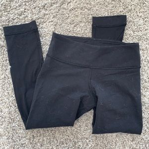 Lululemon Hot Yoga Crop Leggings